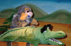 """Die """"Puppenspölers"""" probten fleißig."""