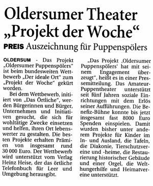 Ostfriesen-Zeitung vom 26.07.2012