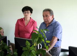 Ведущие семинара Ю.В.Петрова и Г.И.Скороход