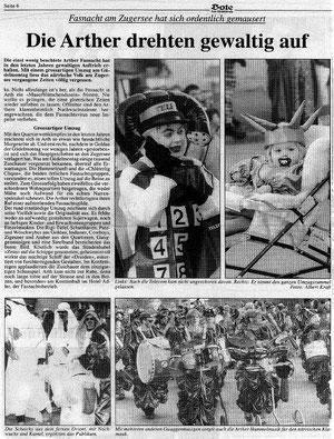 Bote der Urschweiz vom Februar 1997