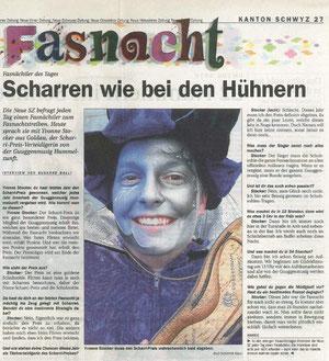Neue Schwyzer Zeitung vom 24. Februar 2004