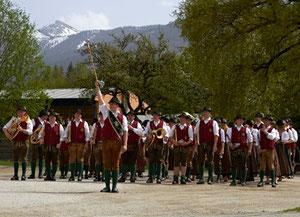 1.Mai Weckruf mit der Musikkapelle Aigen