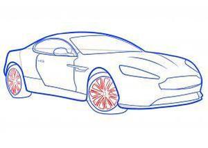 как научиться рисовать автомобиль