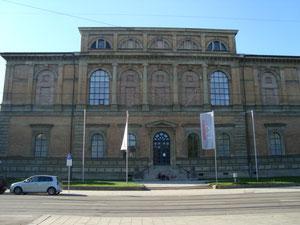 Klenze-Portal Alte Pinakothek