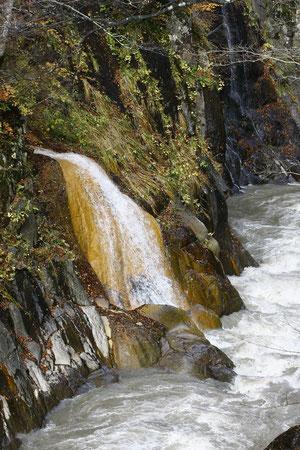 大河の源流 この滝,鳥にみえるけれど,貴方には?