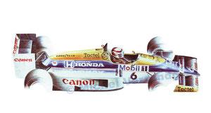Nelson Piquet (50x70cm)