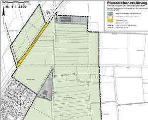 Bebauungsplan zur Freihaltung des Außenbereichs von Tierhaltungsanlagen