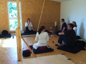 Meditation am 9.6.2013.