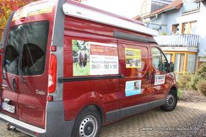 Unser Foto-Mobil-Fahrzeug