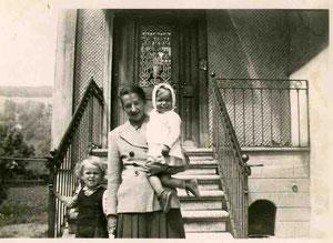 Heidi Schwager bei der Familie Merz im Seehof