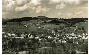 Alte Postkarte von Balterswil, Kanton Thurgau