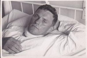 Alfred Iten im Krankenbett