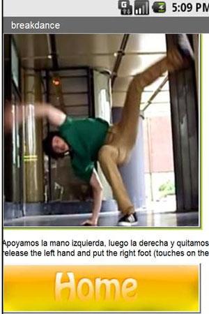 Aplicación Breakdance