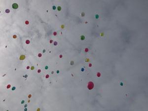 Welcher Ballon fliegt am weitesten?