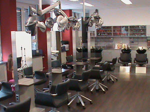 Friseurwerkstätte