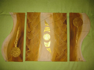 Acryl 3 teilig (100 x 60 cm)