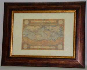 old map 1 gravoures collection