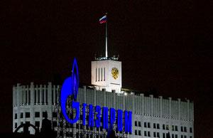 Der russische Energiegigant Gazprom hat in fast allen Osteuropa-Fonds einen hohen Anteil. Bild: Reuters
