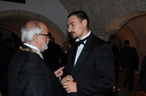 Don  Guerrino Antonio I duca di Paipa e S.A.R.e I. Alfred Josef Baldacchino