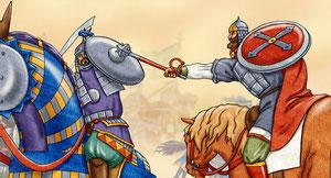 поединок конных