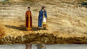 Княгиня утешает князя и просит его уповать на волю Божию