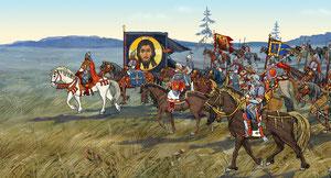 Донской с войском