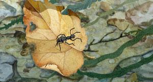 Пересвет спасает муравья