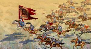 русская конница на Куликовом поле