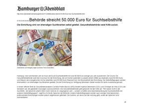 Hamburger Abendblatt vom 18.10.12: Mit einem Klick erscheint der Artikel in Originalgröße.