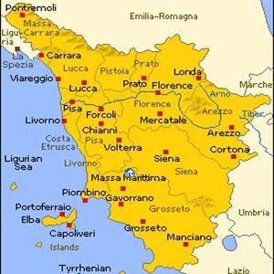 Toskana Karte Deutsch.Kulturreise Nach Umbrien Toskana Italien Juni 2010