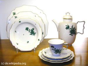 Das Augarten Porzellan ist das teuertse österreichische Porzellan und wird auch für Staatszwecke verwendet.