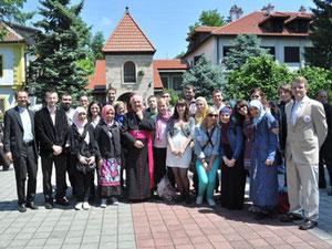 Diese Gruppe von jungen christlichen und muslimischen Menschen besuchten Bosnien-Herzegowina.
