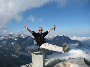 Josef Markl ist ein begeisterter Bergsteiger.