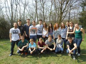 19 Firmkandidaten und 6 Firmbegleiter verbrachten ein Wochennde im Jugendzentrum Oberleis
