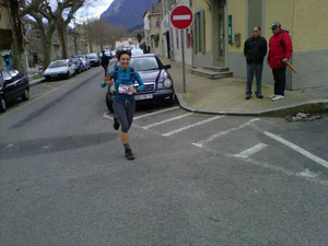 Cathy JAMPY- 1ère féminine du 26 km