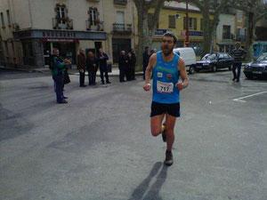 Brice DELSOUILLIER vainqueur du 26km de l'édition 2013 du TPPA