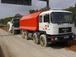 amag 20 m³ Wassertanker vor Recycler