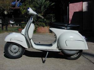 Vespa GS 160 von 1963 im Originalzustand
