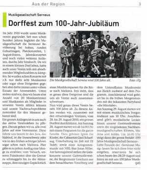Prättigauer Zeitung vom 14. August 2010