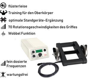 Vibrationshantel Mano 30, Test, Vergleiche, Studien, Vibrationstraining, Galileo Training, Preise, kaufen, Vibrationstrainer: www.kaiserpower.com