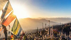 Laya Trekking in Bhutan, Jomolhari und Tiger Mountain