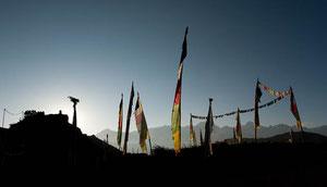 Auf einer neuen Trekkingroute in den Norden von Mustang (Nepal)