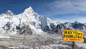 Mount Everest Trekking mit Kala Patthar