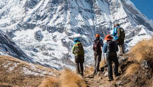 Anspruchsvolles und einsames Trekking um die Annapurna
