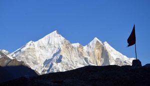 Trekking Garhwal, Ganges Quellen, Gangotri, Tabovan, Shivling