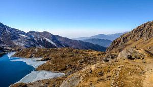 Lodge-Trekking nach Langtang, Gosainkund und Helambu