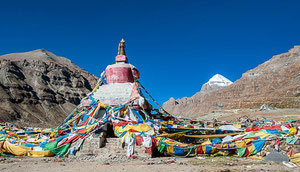 Tibet-Reise, Mount Everest und Kailash in Westtibet
