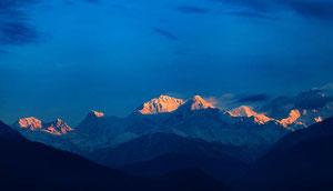 Trekking in Sikkim, Goechala, Kangchendzönga (Kangchenjunga)