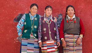 Reise durch Tibet, Lhasa, um den Yamdrok See, Shigatse
