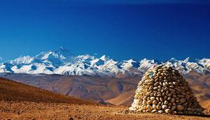 Tibet, Trekking Mount Everest, Lapchi Tsokchung